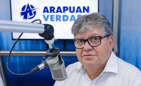 João Azevêdo - (Foto: Sistema Arapuan de Comunicação)
